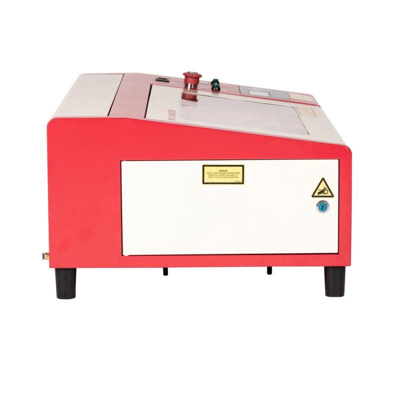 Side of LS3020 Desktop Laser Engraver