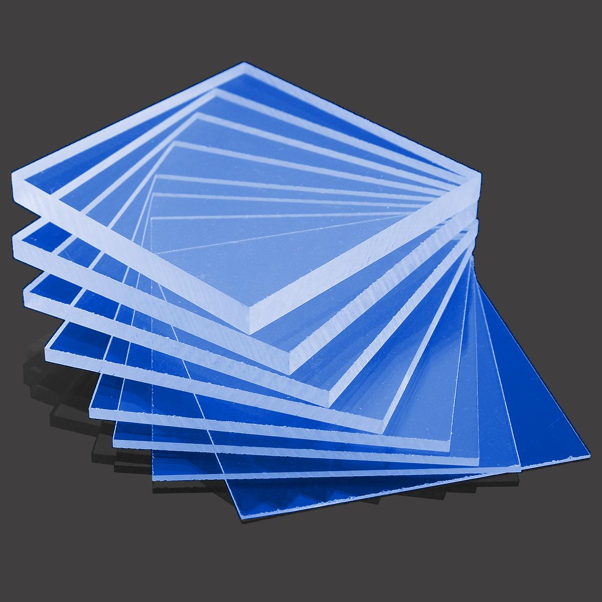 Blue cast acrylic