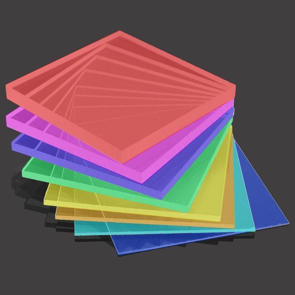 Acrylic bundle