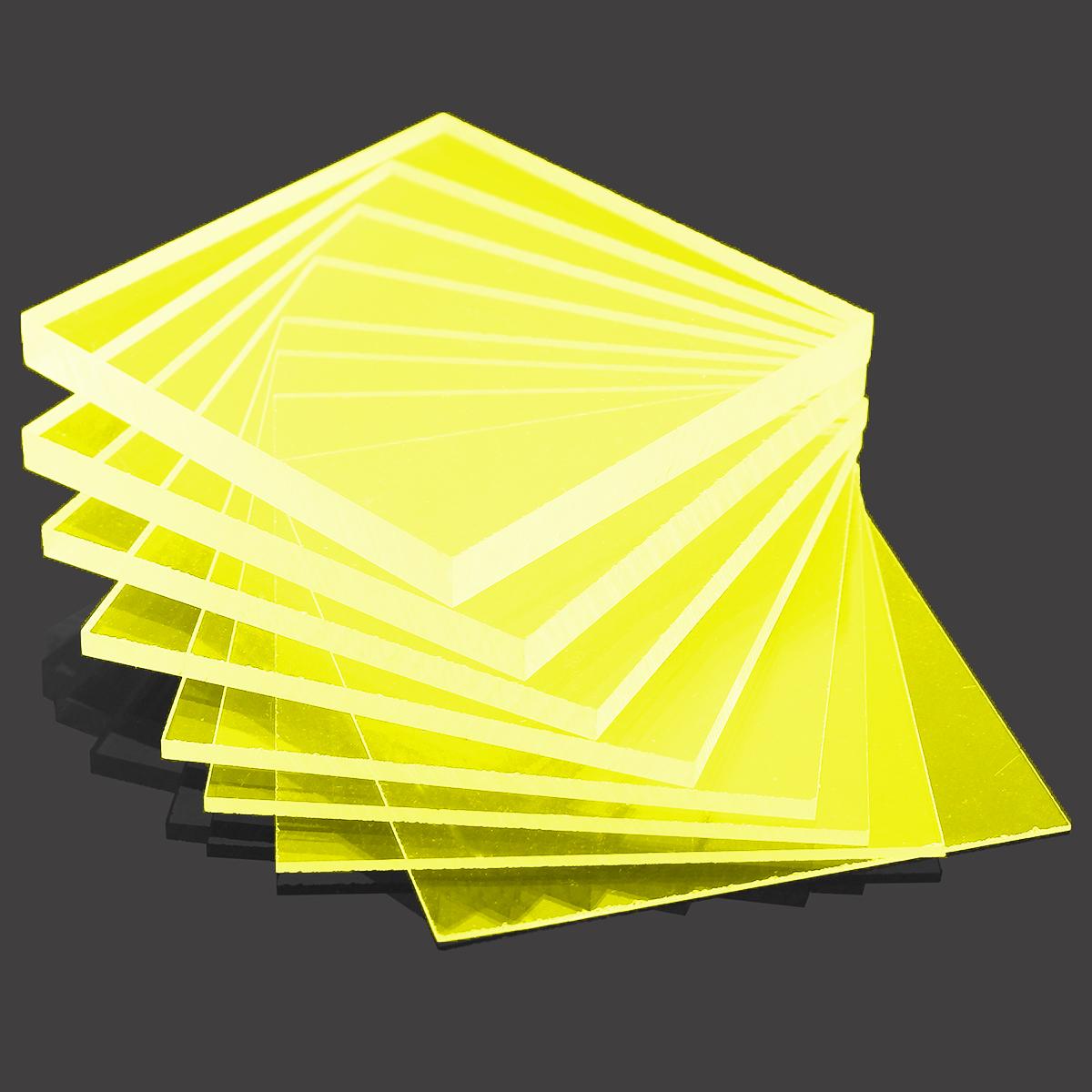 Yellow Cast Acrylic