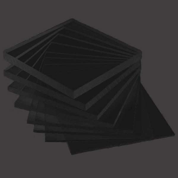 Black Sheet Acrylic