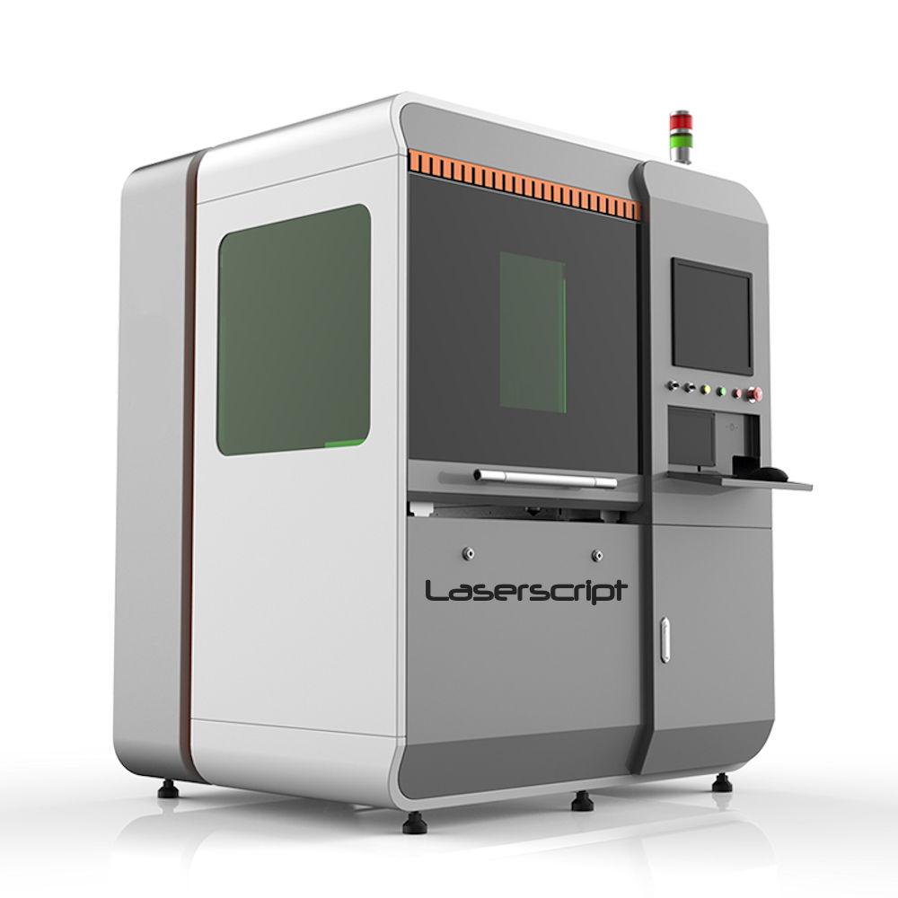 Closed front of LS0640 Fibre Laser Cutter