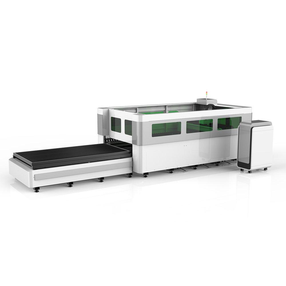 Fiber Laser Cutter LS3015 rear