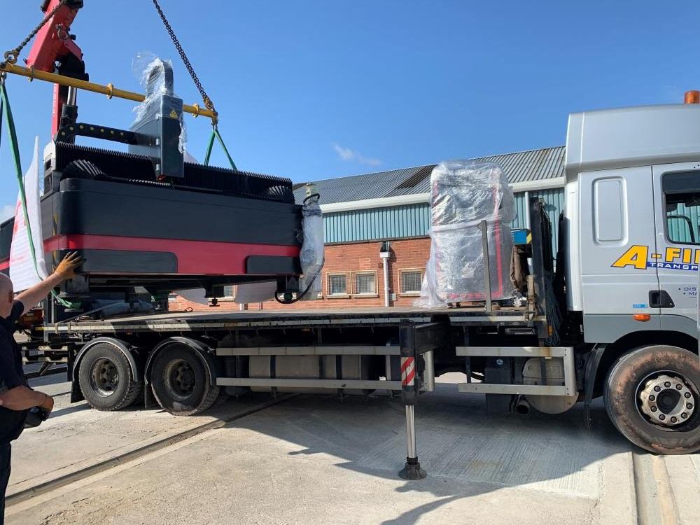 Laser Cutter Delivery