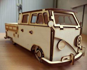 Laser Cut VW Camper Van