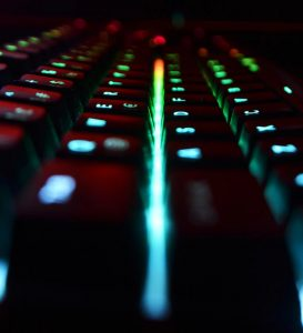 Keyboard with lights