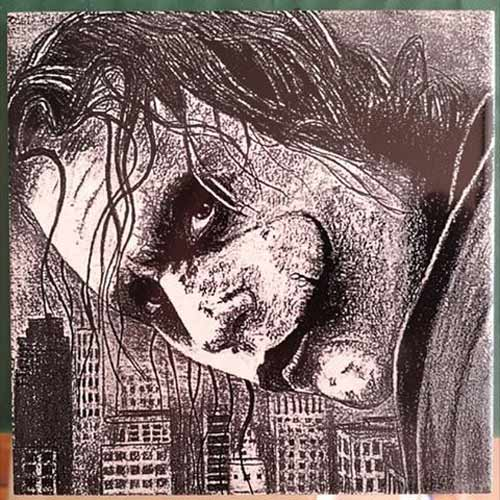 Laser Engrave The Joker Batman