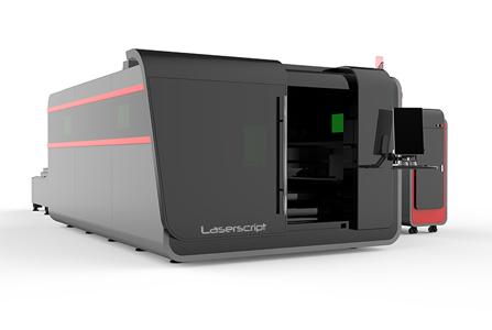 LS3015 Fiber Metal Cutter with enclosure