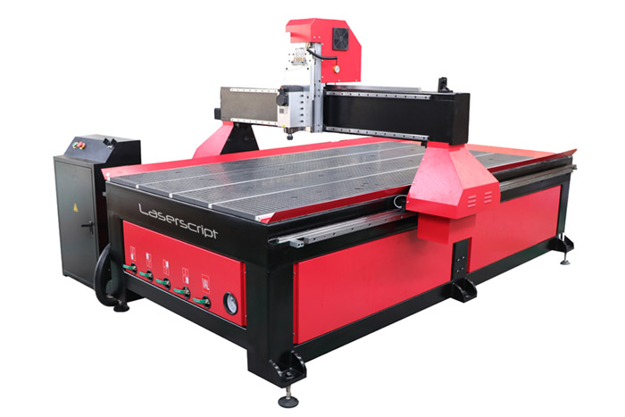 CNC1325 Router Side View