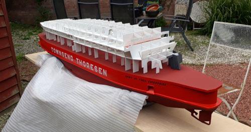 CO2 Laser Cut Boat