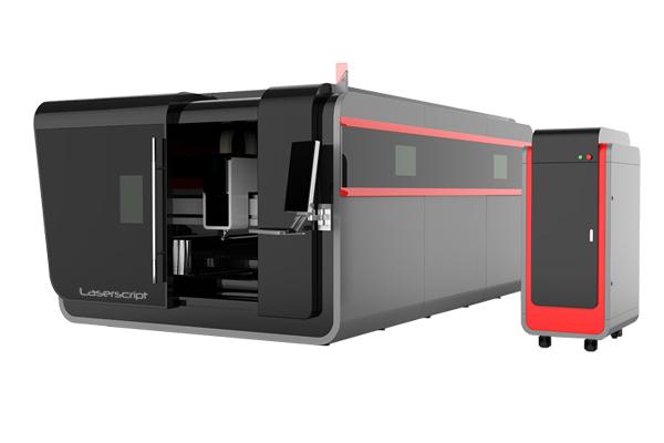 Fiber Laser Cutter LS3015 Front