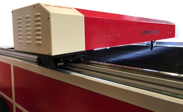 LS2515 Flatbed Laser Side Front