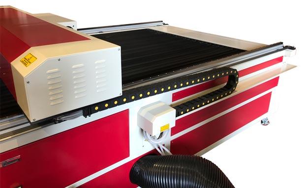 LS2515 Flatbed Laser Side