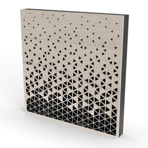 CO2 Laser Cut Sound Diffuser
