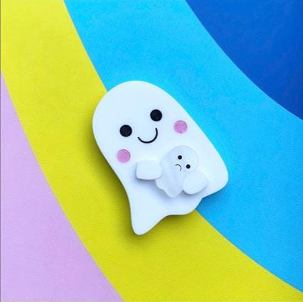 Laser Cut Acrylic Halloween Ghost