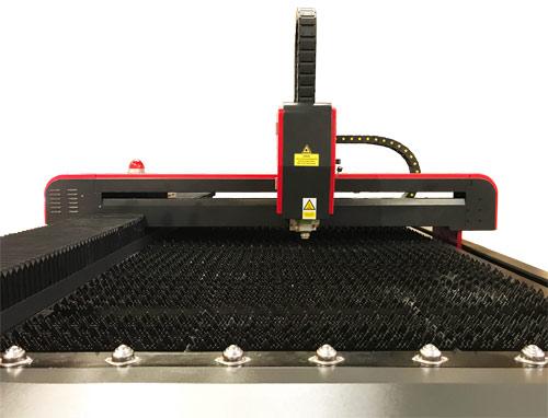LS1325 Fiber Laser Metal Cutter Bed