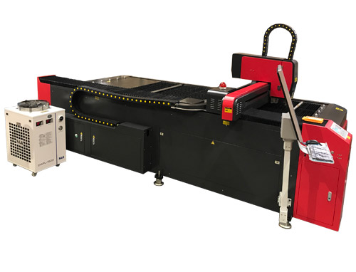 LS1325 Fiber Laser Metal Cutter
