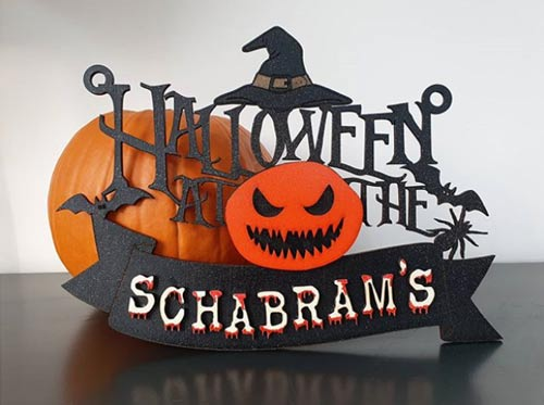 Halloween Laser Cut Design