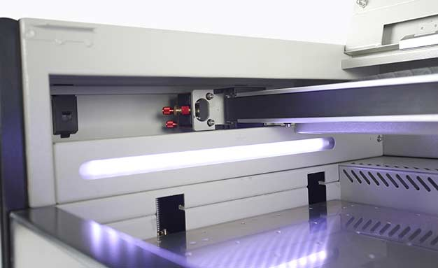 Aeon Laser MIRA 5 CO2 Laser Engraver and Cutter Inside