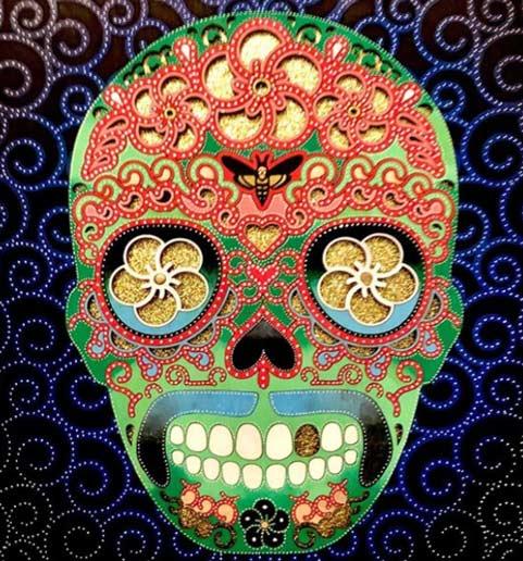 Laser Cut Sugar Skull