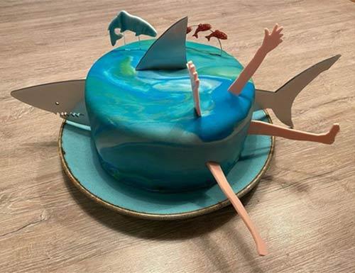 Laser Cut Cake Decoration