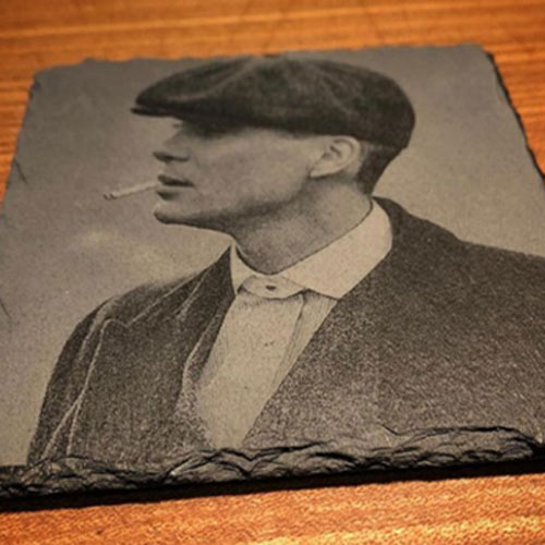 Laser Engraving of Tommy Shelby