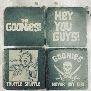 The Goonies Slate Engraving