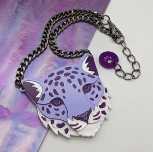 Acrylic Jewellery made with a laser engraving machine