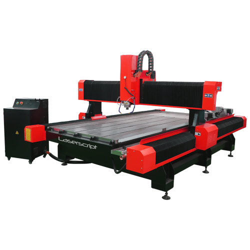 CNC Router for cutting stone, marble and slate